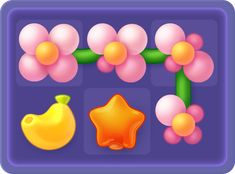 Playrix Служба поддержки Game 2d, Match 3 Games, Game Ui Design, Game Interface, Cute Games, Game Icon, Concept, Icons, Kunst