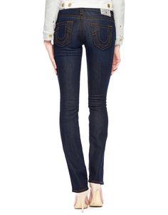 True Religion Women's Low Rise Hand Picked Straight Leg Jean Size 27 NWT $189 #TrueReligion #StraightLeg