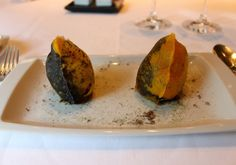 #Cromlech, #manioc and #huitlacoche from #arzak - Read more here: http://thechicbrulee.com/2013/08/12/arzak-a-review/
