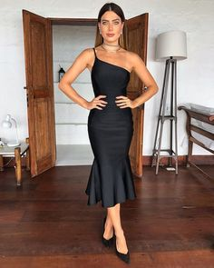 Black new fashion sheath prom gown CR 1102 Bridesmaid Dresses, Prom Dresses, Formal Dresses, New Fashion, Fashion Outfits, Mermaid Skirt, Red Carpet Looks, Dress For You, Ideias Fashion