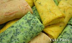 Panquecas de Cenoura, Espinafre e de Abóbora da Yuki Receita no link http://www.culinariareceitas.blogspot.com.br/2013/03/panquecas-de-cenoura-espinafre-e-abobora.html