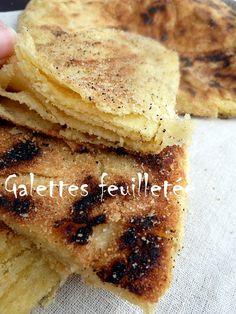 Melloui...Madlouk...Galette feuilletée ... pain feuilleté