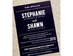 Our 50 Favorite Wedding Invitations | TheKnot.com