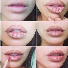 Before Kylie Jenner... It was Angelina Jolie lips ... True lol