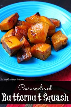 Perfect side of Thanksgiving - gluten - free Caramelized Butternut Squash Recipe