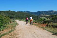 Vía Verde de la Sierra de la demanda, junto a Urrez.