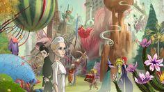 """""""The congess"""" réalisé par Ari Folman. Tant pour la partie film qu'animation, des images superbes, qui nous plongent dans un univers fantasmagorique."""