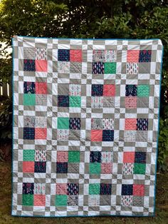 High Tea quilt by Gemini Stitches  - What A Gem fabrics by Allison Cole, Camelot fabrics.