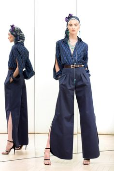 Love the gaucho pants Alexis Mabille Resort 2014