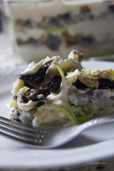 Sałatka śledziowa ze śliwkami Food And Drink, Ethnic Recipes, Magick