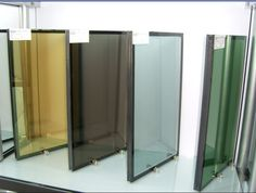 Insulated glass sample