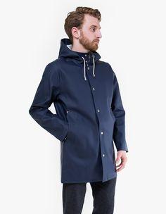 Stutterheim   Blue Stockholm Raincoat for Men   Lyst