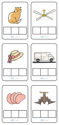 A set of phoneme frames, use with CVC words. Useful game for children to practice the skills of segmenting and as part of the Letters and Sounds framework. First Grade Activities, 1st Grade Worksheets, Phonics Worksheets, Jolly Phonics Activities, Phonics Chart, Primary Teaching, Teaching Reading, Teaching Resources, Phase 2 Phonics