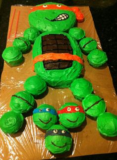 Farewell letter from Tmnt cake TMNT and Cake