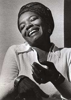 Maya Angelou, 1928-2014.