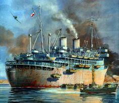 Troop Transport Ship