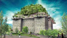 Ein Stadtgarten auf dem Dach des Bunkers auf dem Hamburger Heiligengeistfeld: Bezirksamtsleiter Grote findet das Projekt faszinierend und hält die Umsetzung für realistisch.