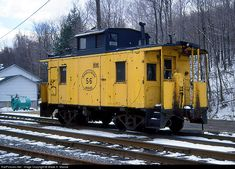 RailPictures.Net Photo: CI 56 Cambria & Indiana Caboose at Colver, Pennsylvania by Wade H. Massie
