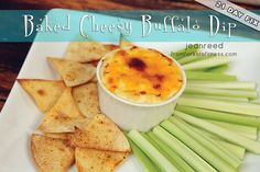 21 Day Fix: Baked Cheesy Buffalo Dip | From Forks to Fitness