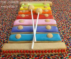 Xylophone Cookie