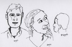 Day #118 - Drawing Portraits / Focussed Practice