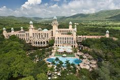The Cascades Hotel is the grand old lady of South Africa's Sun City Resort which features 2 casinos only two and a half hours outside Johannesburg.