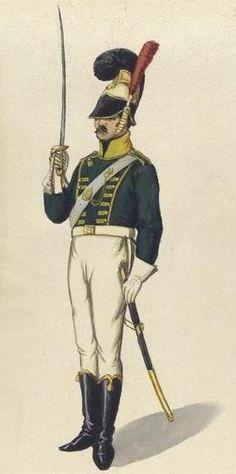 Regimiento de Chevaux-Légers de la Guardia 1810