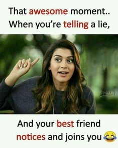 Never happened with e sali dhara g hoe e sachu kai dey frnds crazy quotes for best friend - Quote Craze Best Friend Quotes Funny, Besties Quotes, Cute Funny Quotes, Funny School Jokes, Some Funny Jokes, Funny Memes, Funny Videos, Funny Facts, Crazy Girl Quotes