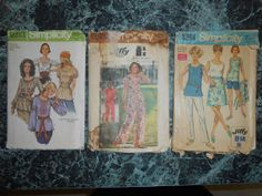 1970's Simplicity Printed Pattern for Misses' by MinaLucinda, $15.00