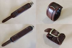 Leather strap for watches leather bracelet от UniqueLeatherWares