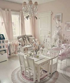Shabby in love pastels