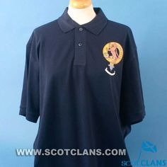 Sutherland Clan Crest Polo Shirt