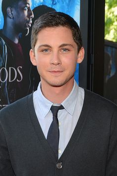 Logan Lerman - reminds me so much of my friend who passed away...