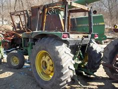 John Deere 2755 tractor salvaged for used parts. This unit is available at All States Ag Parts in Ft. Atkinson, IA. Call 877-530-3010 parts. Unit ID#: EQ-23984. The photo depicts the equipment in the condition it arrived at our salvage yard. Parts shown may or may not still be available. http://www.TractorPartsASAP.com