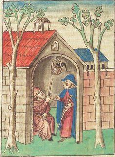 Antonius <von Pforr> Buch der Beispiele — Schwaben, um 1480/1490 Cod. Pal. germ. 85 Folio 101v