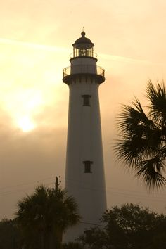 St. Simons Island Lighthouse in the Golden Isles of Georgia. www.GoldenIsles.com #DuckworthProperties #TheGoldenIsles #Georgia