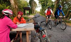 Cycling the Great Western Greenway, a almost entirely traffic-free cycling and walking trail in County Mayo, Ireland, surrounded by idyllic countryside Cycling Ireland, Off Road Cycling, County Mayo, Great Western, Westerns, Bicycle, Activities, Google Search, Places