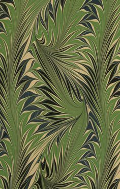 "design-is-fine: "" Modern marbled paper, Whirl pattern, century """