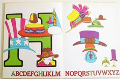 Still Another Alphabet Book Seymour Chwast ~ Martin Stephen Moskof MacGraw-Hill, 1969. Abcdaire psychédélique.