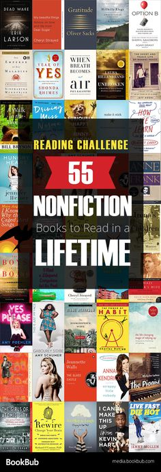 Check out our nonfiction read challenge. Featuring 55 nonfiction books to read in a lifetime including inspirational true stories historical books memoirs and more. Cool Books, Ya Books, Books To Read, Teen Books, Reading Lists, Book Lists, Reading Books, Books 2018, Reading Challenge