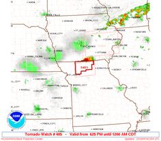 SPC Tornado Watch 485 Status Reports