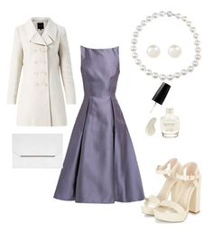 """""""night at the theatre"""" by czcoto ❤ liked on Polyvore"""
