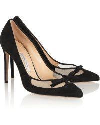 f61f653d7029 Bionda Castana Black Ankle-Tie Lana Pumps in Black