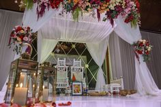The perfect altar for a perfect Indian wedding in a Caribbean resort. Caribbean Resort, Grand Hyatt, Amazing Weddings, White Sand Beach, Post Wedding, Hotels And Resorts, Altar, Beautiful Gardens, Night Life