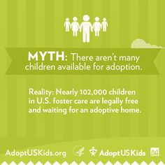 Over 100K kids are available for #adoption from #fostercare! via @AdoptUSKids