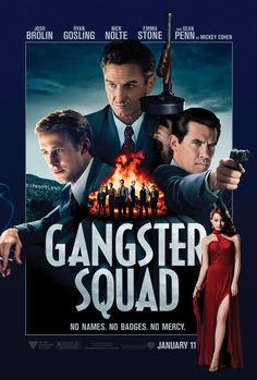 #my13for2013 #enlightenedHBO see some good movies! Gangster Squad set to rumble in January