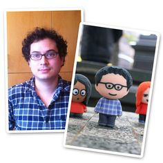 This service lets you create your own miniature 3D printed version of yourself (or anyone else). It's like a game avatar in real life. I want one!