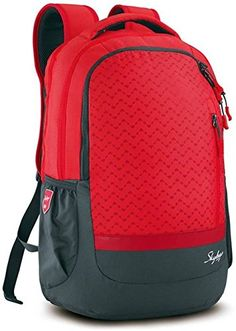 0cd108d741494 Skybags Lazer 01 Red Laptop Backpack: Amazon.in: Bags, Wallets & Luggage