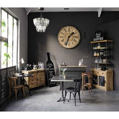 Inspiring Unique Home Inspiration Ideas With Vintage Industrial Furniture Do you want to apply a vintage concept to your home to make it look more unique? Until now, this concept is very popular and is still applied by many . Country Style Homes, House Styles, Decor, Industrial Decor, Home, Industrial Interiors, Vintage Industrial Furniture, Industrial Design Furniture, Home Decor