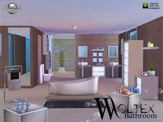 The Sims Resource: Woltex bathroom by JomSims � Sims 4 Downloads